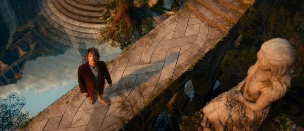 Bilbo in Rivendell